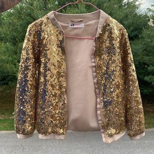 Girl sequin jacket